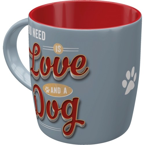 Tasse Love and Dog